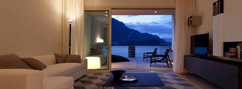 soggiorno in villa a Como