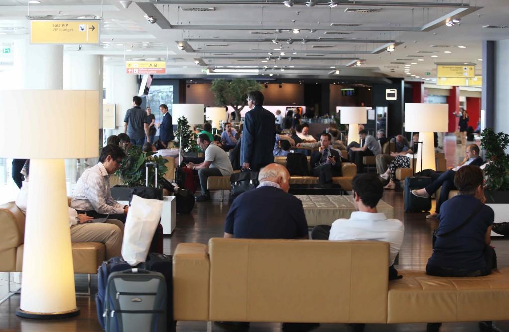 Record di passeggeri per l'aeroporto