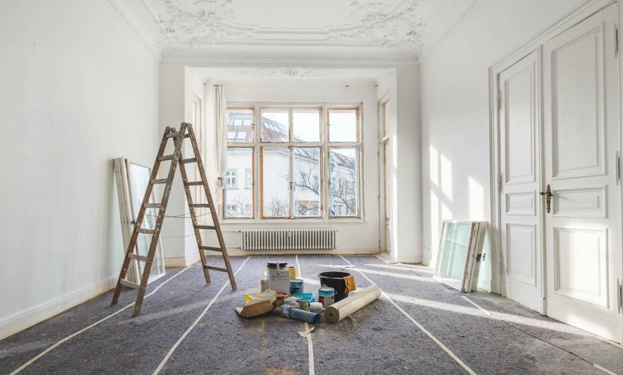ristrutturazione della casa